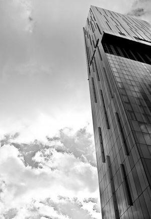 Dramatic Angles Monochrome Photography