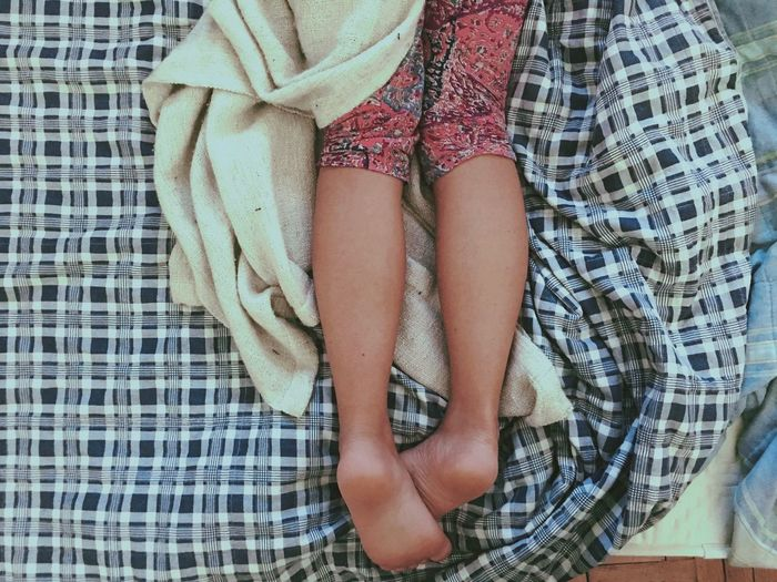 Girl Alone Relaxing Bed Foot Mood Teen Cute IPhoneography
