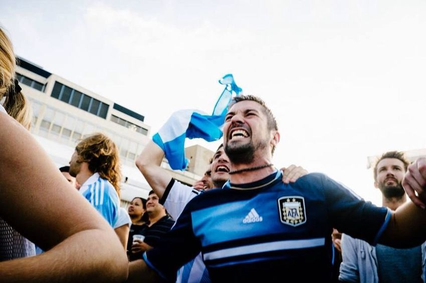 Emotions Worldcup2014 Argentina People