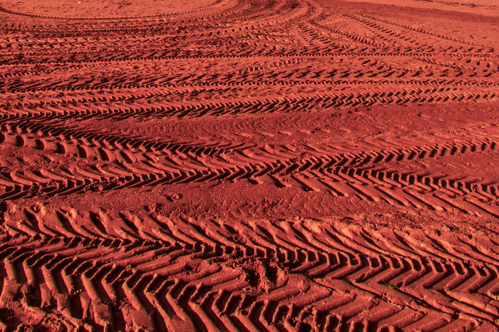 Mars in the Earth Mars Marte Arid Climate Backgrounds Day Full Frame Nature No People Outdoors Pattern Red Sand Sand Dune Space Textured  EyeEm Ready   EyeEmNewHere AI Now Capture Tomorrow