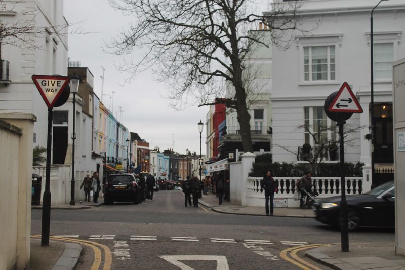 A little blurry, but i love this photo from Portobello Road in London