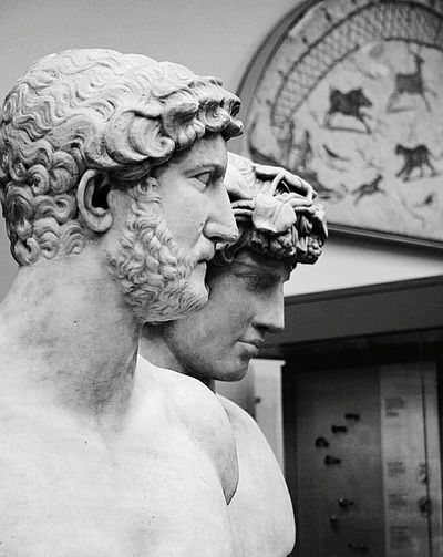 Eternal Love aka Hadrian and Antinous Sculptures Marble Antiquity Rome Roman Hadrian Antinous Love Britsh Museum London