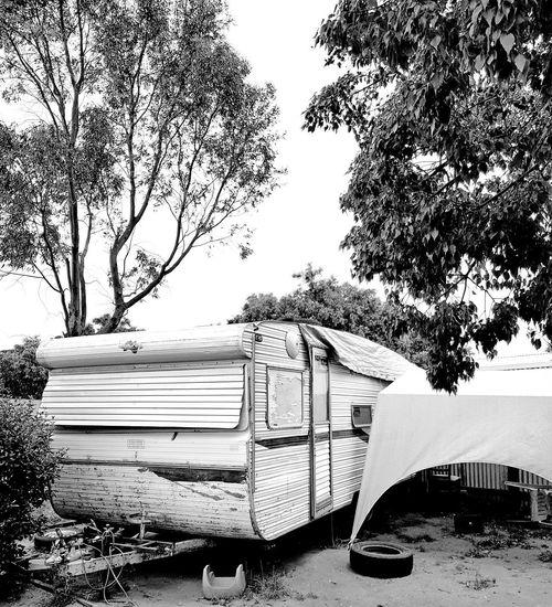 Caravan Camp Australia Glamping Australia & Travel Caravan Campinglife Aussie Camp Outdoors Day Sky