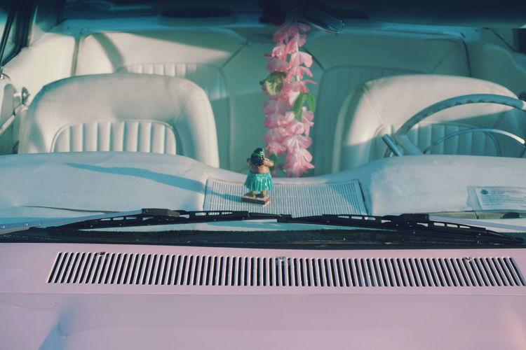 pink vintage Car with Hawaii interior Car Cars CarShow Car Interior Vehicle Interior Vehicle Vehicle Seat Vehicle Photography Interior Hawaii Life Hawaiian Style Hawaii HulaHula Pink Pink Color Pastel