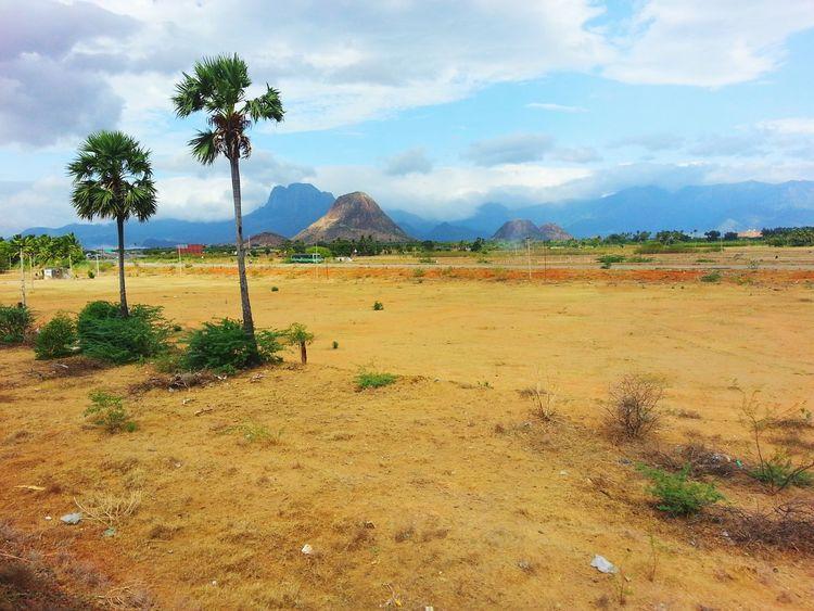 Tamilnadu Blue Sky White Clouds