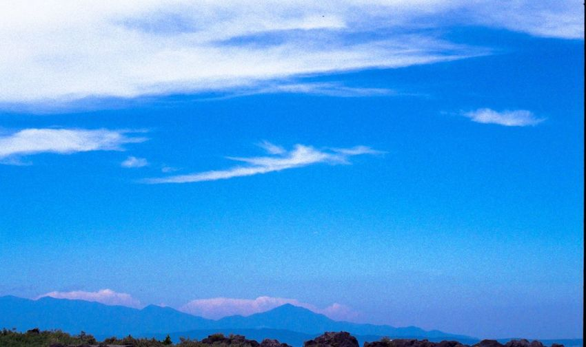Blue Sky Mountains Clouds And Sky Clouds Summer Vacation Odawara EyeEm EyeEm Best Shots Eos1v Film Photography