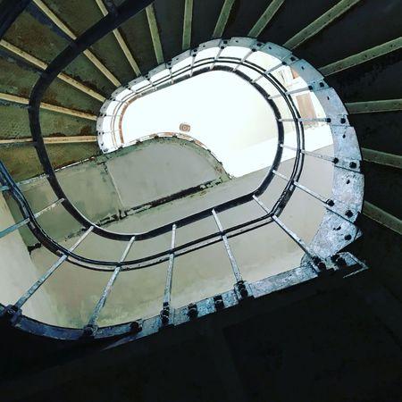 Spiral Spiral Stairs No People Indoors  Lostplaces Rotten Places Beelitz Heilstätten