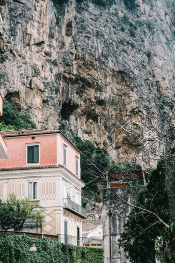 Amalfi Coast, Italy Amalfi  Amalfi Coast Architecture Branch Building Building Exterior Built Structure City Day Growth High Angle View House Italy Lush Foliage Nature No People Outdoors Plant Residential Building Residential Structure Town Travel Destinations Tree