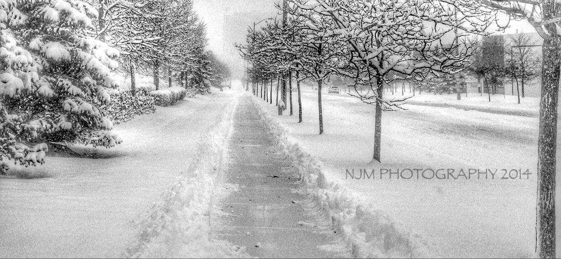 Blackandwhite Streetphotography Snow Storm this was a week ago... It's all gone... Hope for a white Christmas!