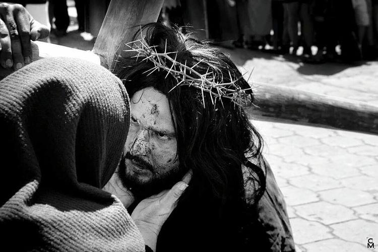 Viacrucis Virgenmaria Jesus Christ Semanasanta Semana Santa Mirada