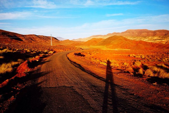 Lets go. Morning On The Road Hello World Travel Traveling Travel Photography Travelling Travel Destinations Nature Sky_collection Nature_collection Sky Clouds And Sky Morrocco Africa Mountains Road Lifestyles Colors Photography Popular Popular Photos