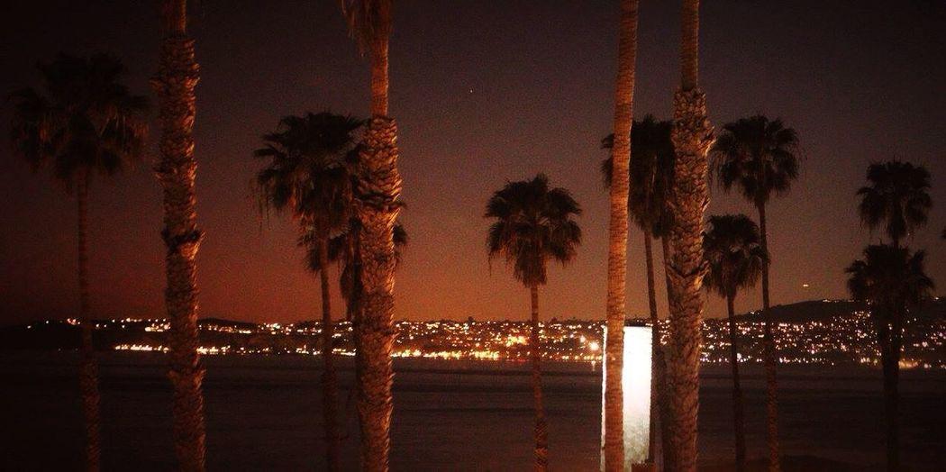 Skyline from San Clemente Pier