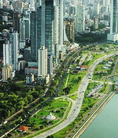 City Building Exterior High Angle View PanamaCity Been There. Lost In The Landscape Mobility In Mega Cities Colour Your Horizn