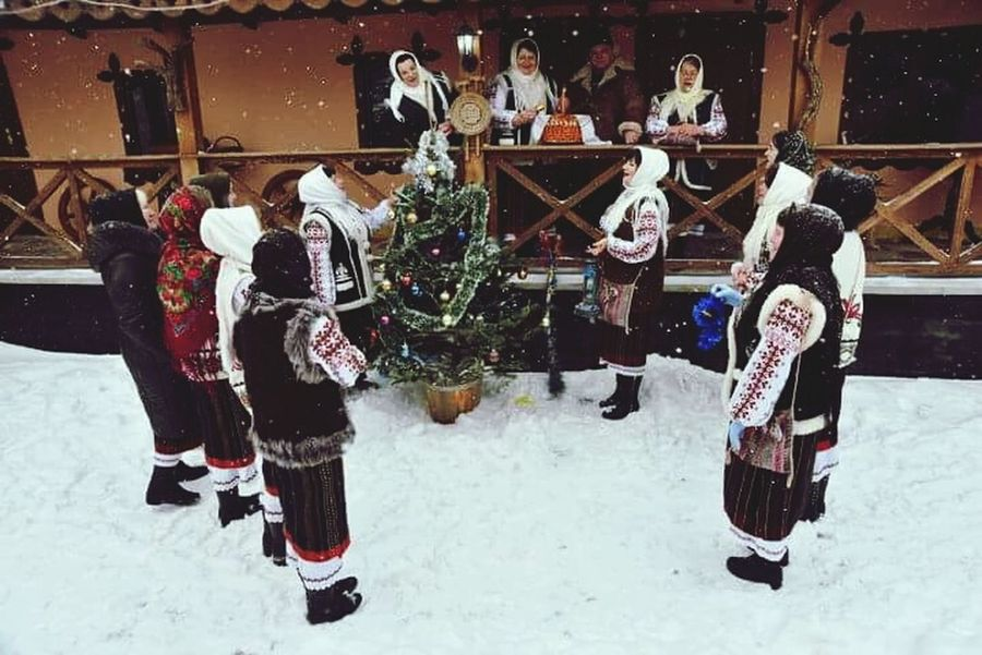 Winter Holiday Traditional Costume Traditional Culture Republic Of Moldova Happy People❤ Sweet😍 Cold Temperature Christmas Winter