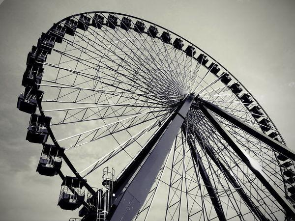 Circle of life.. Amusement Park Ride Amusement Parks Amusement Ride Architecture Big Wheel Built Structure Circle CIRCLE Of LIFE Day Enjoyment Fun Joy Ride Joyful Large Leisure Activity Low Angle View Metal Outdoors