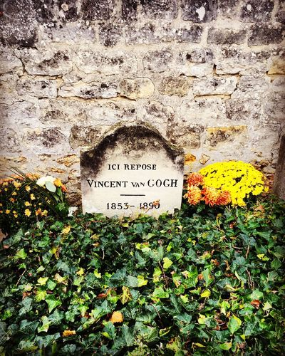 Van Gogh's grave Flower No People Graveyard Van Gogh France Famous Place