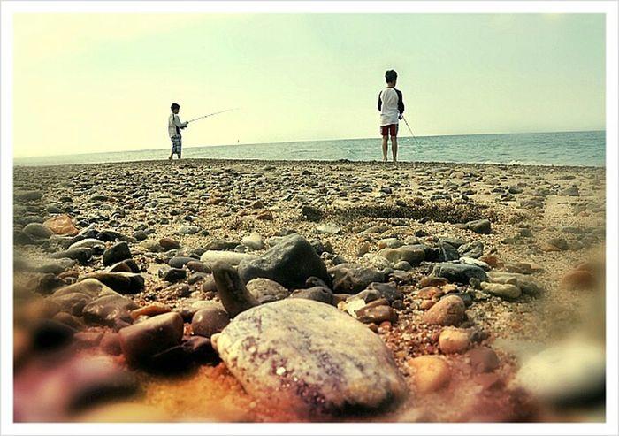 Summer Fishing Nature Childhood