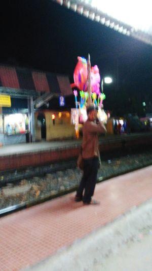 Yhe Balloon Seller