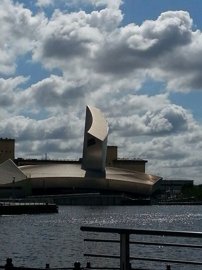 Imperial War Museum North , Salford Quays