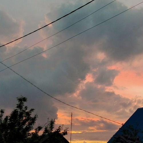 Великолепный закат