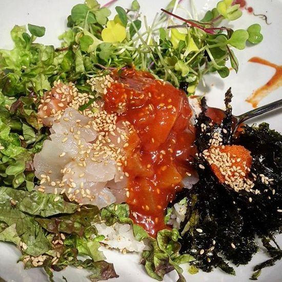 먹스타그램 먹방 회덮밥 회 먹부림