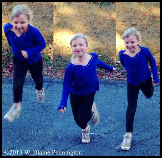 My Jessie runs