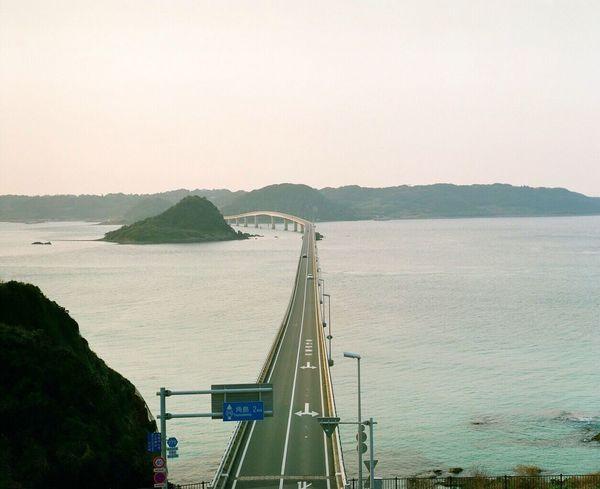 この橋を渡ったらどんな景色が見れるんだろう Film Photography 120 Film PENTAX67 Filmcamera EyeEm Best Shots Sea And Sky