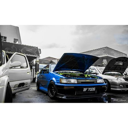 Deaf Awarness Week 2014 Car Show organized by (O.K.P.) venue: Tutong civic center. Toyota Levin Twincam Flushed fitmentcrew stancenation modifiedsociety JDM madeinjapan
