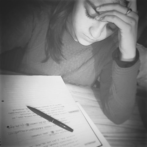 This is harder than I tought. 😓 Studying Final Exam Exam Week Future Chef  Love Passion Selfie Time Saturday Night Blackandwhite Girl