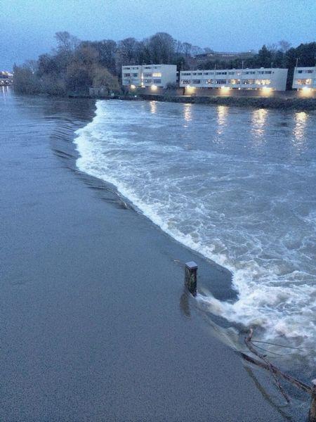 Weir River Water