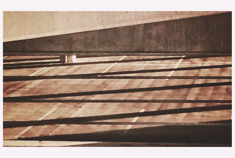 "Archiabstracts: The Parking Garage. Because the are designed to be functional abdvtinrack as many autos in as small a space a possible, parking garages are often considered unattractive and architecturally uninteresting. Nothing could be further from true, especially as the garage accumulated ""wear and tear."" The regularity if a garage as far as the distribution if parking parking spaces, Ramos and lamps, stairs and chairs ... They provide great opportunities for composing deconstruction, the ounces of which often make great abstracts. Add in light from the outside, especially at dusk and dawn, and large puddles which operate as reflecting surfaces and the possibilities are endless. Here is an interesting lattice stern created by interior and exterior light combining early in the morning and Kate in the afternoon. The Moment - 2015 EyeEm Awards Beauty In The Mundane Eye4photography  EyeEm Best Shots IPhoneography Creative Light And Shadow EyeEmBestPics"