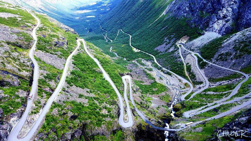 The Traveler - 2015 EyeEm Awards Road Traveling Norway Trollstigen Norway Edge Of The World Samsung Galaxy S6 Edge EyeEm Best Shots EyeEm Nature Lover