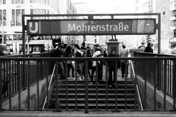 Architecture Berlin Black And White City City Life Day Information Sign Mohrenstraße