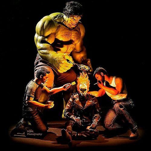 Marvel Comics Marvels The Hulk Ironman Thor  Ghostrider Comics