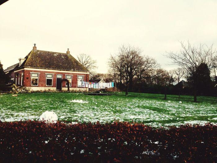 Pastel Power Laundry Netherlands First Eyeem Photo Boerderij Waslijn Farmhouse