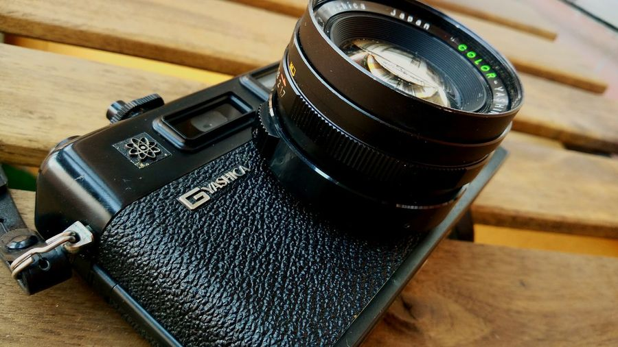 Yashica camera Old-fashioned Yashica Antique Retro Styled Old Camera Retro Camera Japanese Camera Camera - Photographic Equipment Analogic Camera Analogic