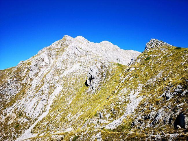 Mountain Clear Sky Mountain Peak Sky Landscape Mountain Range Mountain Ridge Rocky Mountains Rock Formation Wilderness Area