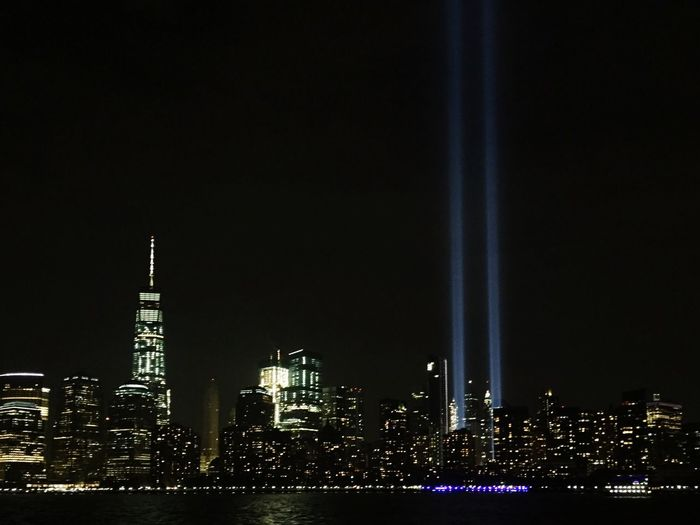 9/11 never forget 911 WTC World Trade Center New York New York City Skyline Cities At Night Memorial America