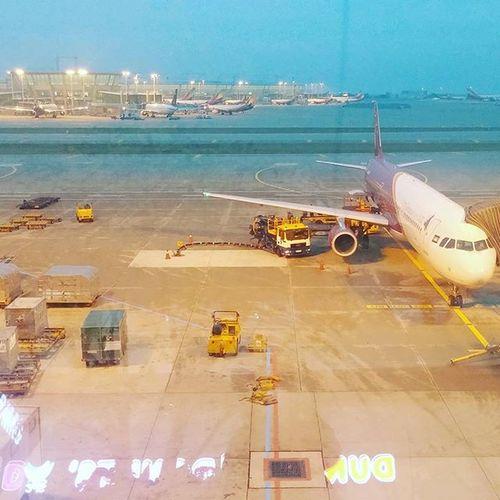 びゅーんってひとっ飛び笑 なんだかんだあっという間。 Korea Japan 韓国 日本 飛行機 空港 仁川 朝 朝方 夜明け 12月 久しぶり やっと 今行きます 若者よ若いうちに愉しむべし