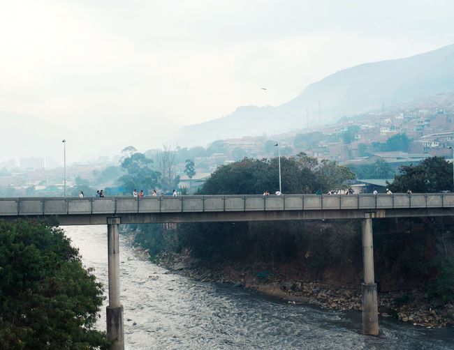 Bridge - Man Made Structure City Colombia Concert High Medellín Mist Mountains Outdoors Tree Water
