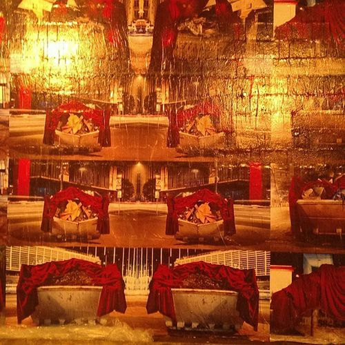 Laço no MaPA- Painel instalado na entrada da festa Laço Arte Expo USP PaçodasArtes
