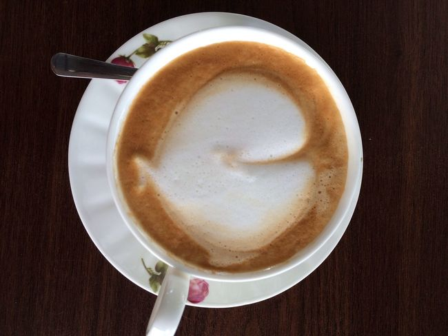 3D whale Cosmffee Coffee ☕