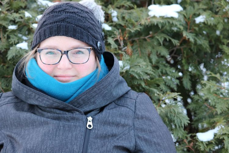 Looking At Camera Eyeglasses  Portrait One Person Day Outdoors Adults Only Headshot Winter Adult Warm Clothing Happiness Real People Smiling One Man Only Tree People Only Men Young Adult Close-up