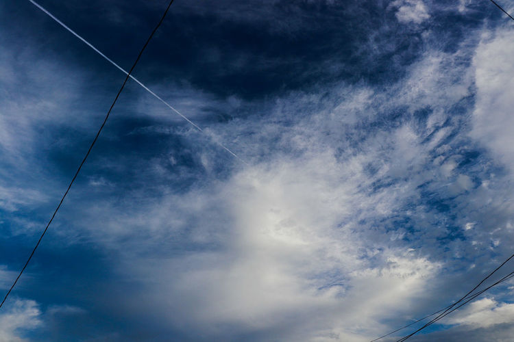 heaven Nubes Cielo Firmamento Espacio Sky Cloud - Sky Blue No People Backgrounds Cable Nature Day EyeEm Ready