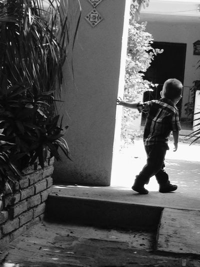 La innocencia es la curiosidad que vive en todo niño.