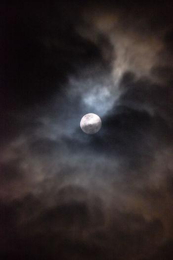 Moon shot in a