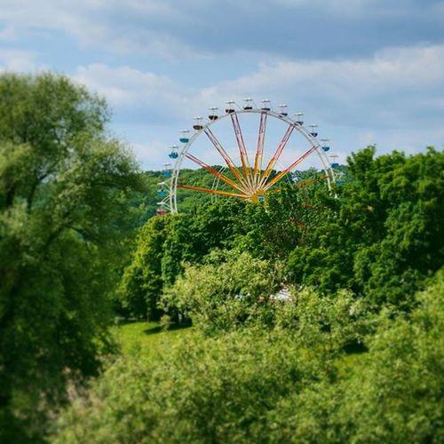 Ferriswheel in a Festival . in a Park near the Pfaffenstein Bridge . Regensburg Germany Deutschland . Taken by my Sonyalpha DSLR Dslt A57 . ملاهي حديقة ريجنزبرغ المانيا