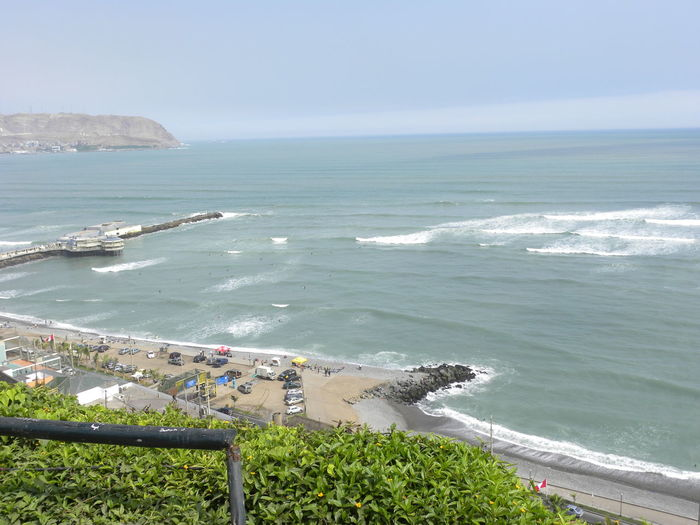 Beauty In Nature Coastline High Angle View Horizon Over Water Idyllic Lima Oery==== Sea Shore Tranquil Scene