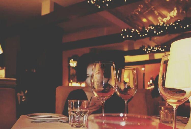 Portrait Selfportrait Selfie ✌ Christmas Dinner Time Wine Wine Moments