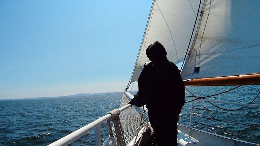Rotersand Sailing Ship Tall Ship Beautiful Day